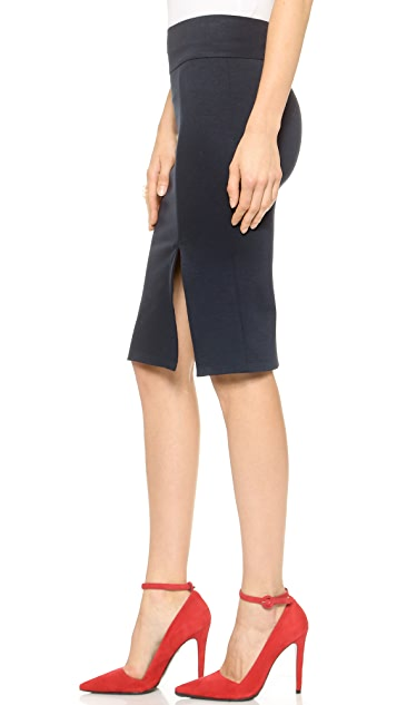 alice + olivia Pencil Skirt with Slit