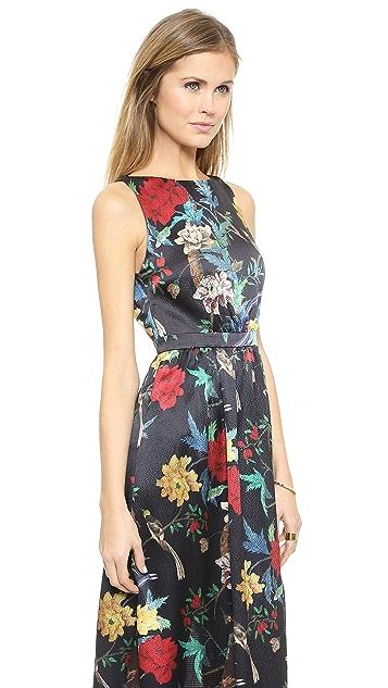 alice + olivia Elis Maxi Dress