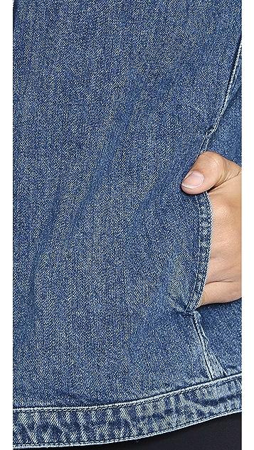 alice + olivia Palm Cropped Jacket