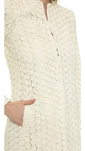 alice + olivia Shay Long Boxy Coat