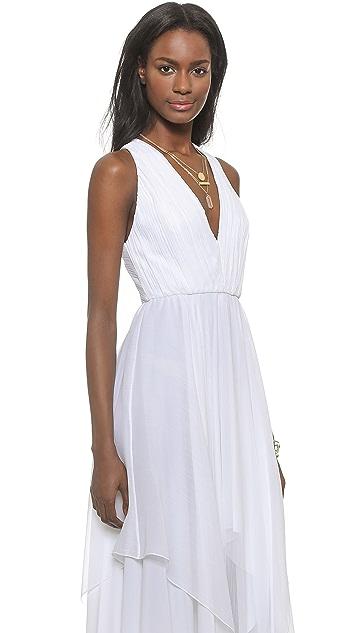 d38c1e9bf7 ... alice + olivia Mya Gathered Handkerchief Maxi Dress ...