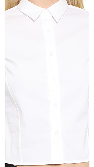 alice + olivia Slim Button Down
