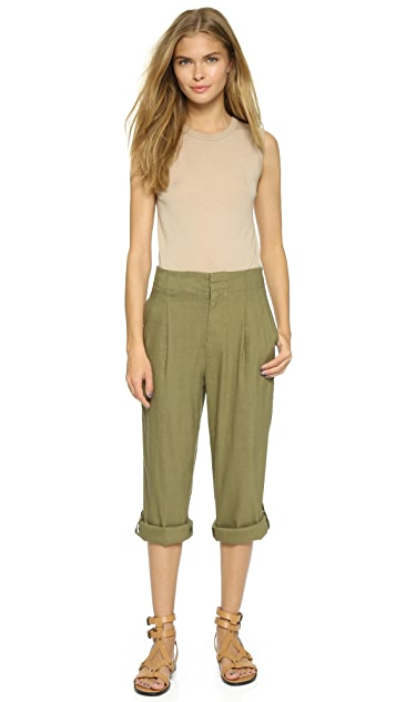 alice + olivia High Waisted Roll Cuff Pants
