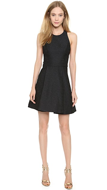 alice + olivia Danie Open Back Dress