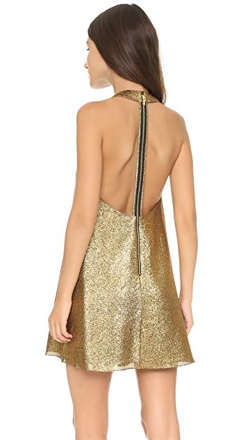 alice + olivia Harrison Flared Dress