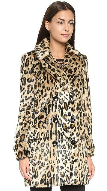 alice + olivia Montana Faux Fur Coat