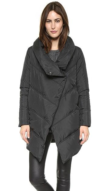 alice + olivia Vicki High Neck Puffer Coat