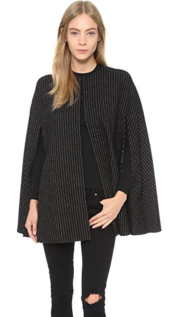 alice + olivia Kingsley Cape Coat