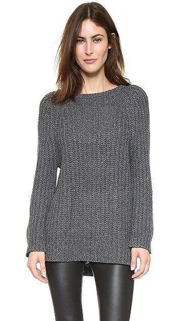 alice + olivia Chunky Marled Sweater