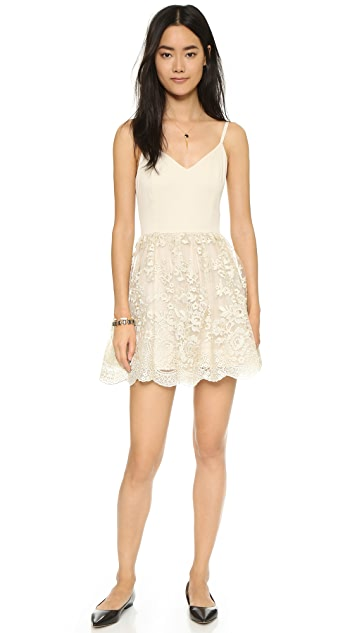 alice + olivia Julianne Ballerina Party Dress