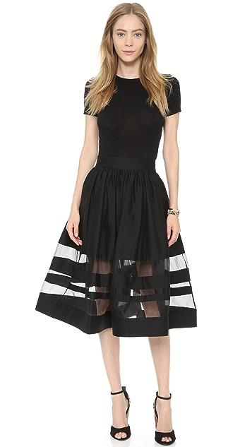 alice + olivia Misty Skirt