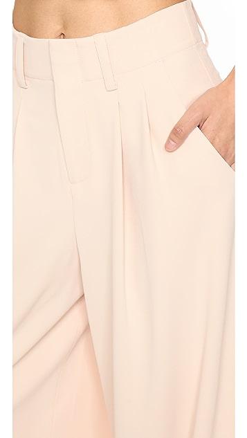 alice + olivia Eloise Wide Leg Trousers