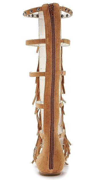 6500a423a709 ... alice + olivia Paula Fringe Gladiator Sandals