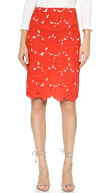 alice + olivia Farrel Pencil Skirt