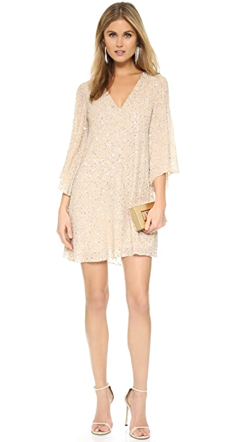 alice + olivia Shary Embellished Dress