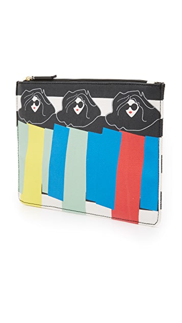 alice + olivia Triple Threat Pouch