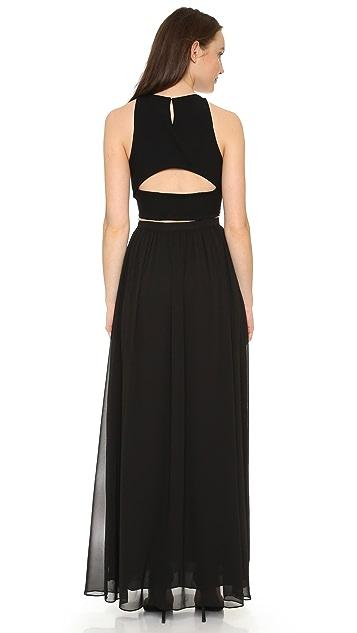 Ali & Jay Lace Bodice Two Piece Dress