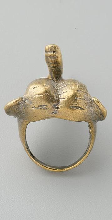Alkemie Jewelry Elephant Ring