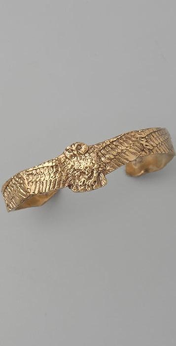 Alkemie Jewelry Swooping Owl Bangle