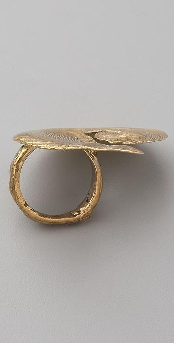 Alkemie Jewelry Edwardian Feather Ring