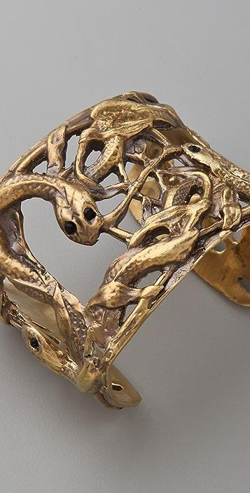 Alkemie Jewelry Snake & Vines Cuff