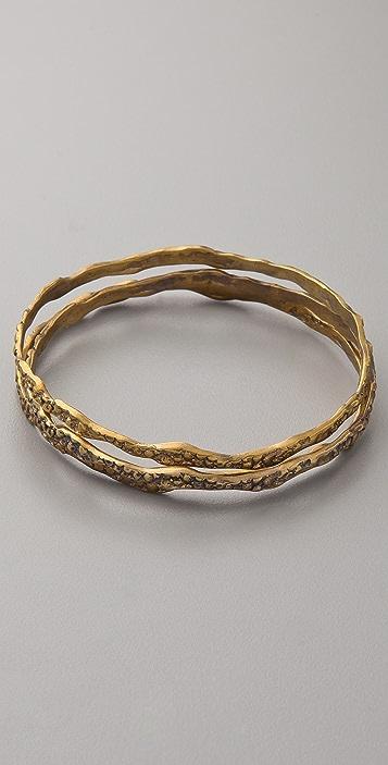 Alkemie Jewelry Thin Stingray Bangle Set