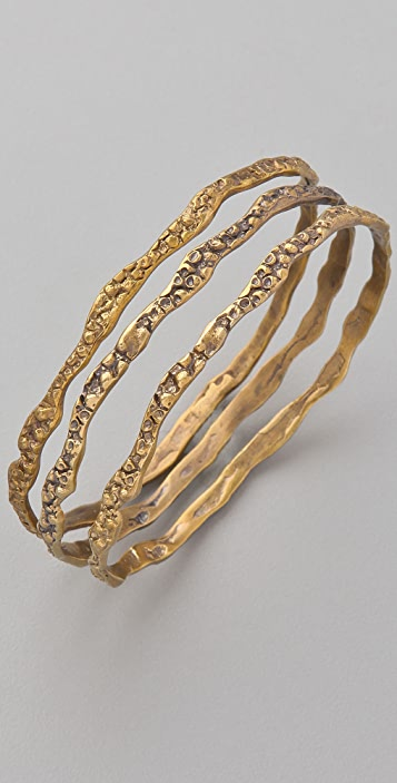 Alkemie Jewelry Thin Stingray Bangle Set