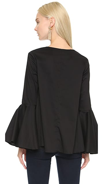 Alexis Hiltrud Ruffled Blouse