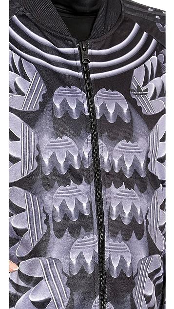 adidas Originals by Mary Katrantzou Track Zip Up Jacket