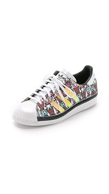 adidas Originals by Mary Katrantzou MK Superstar '80s Badges Sneakers ...