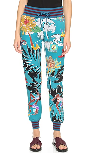 adidas Originals by Mary Katrantzou Printed Track Pants