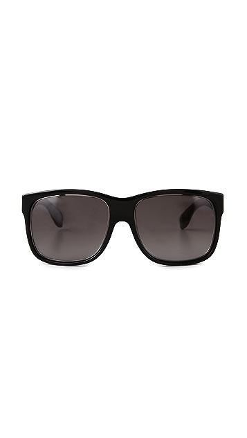 Alexander McQueen Oversized Square Sunglasses