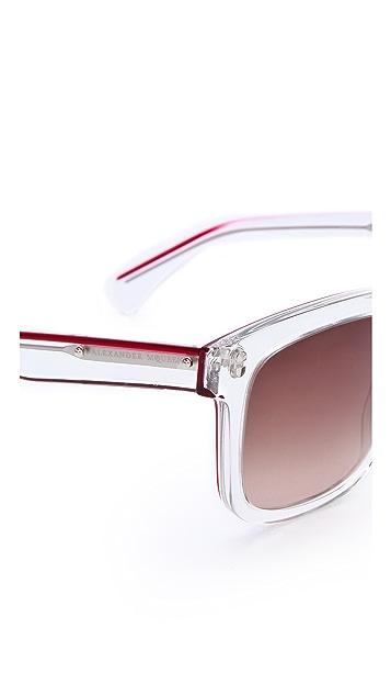 Alexander McQueen Translucent Sunglasses