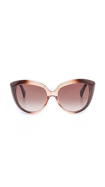 Alexander McQueen Cat Eye Sunglasses