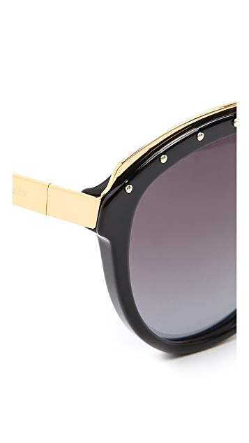Alexander McQueen Studded Sunglasses