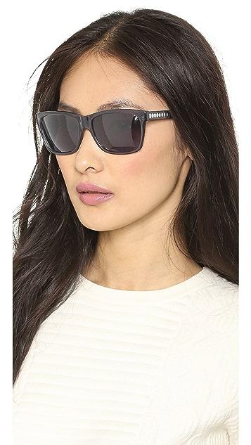 Alexander McQueen Square Sunglasses
