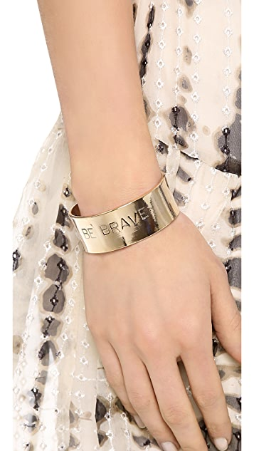 Alisa Michelle Designs Be Brave Bracelet