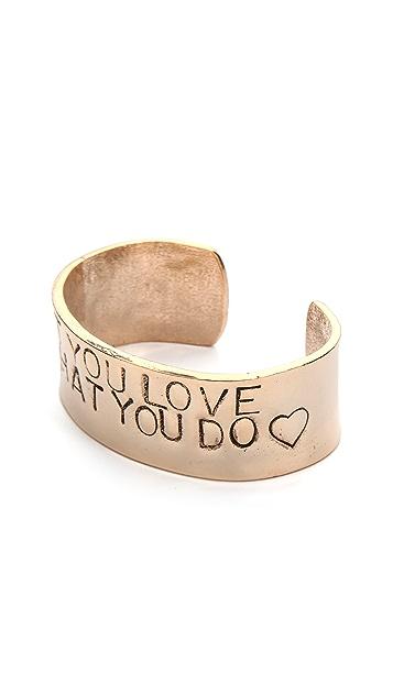 Alisa Michelle Designs Do What You Love Bracelet