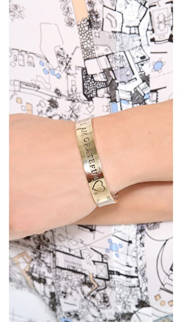 Alisa Michelle Designs I Am Grateful Bracelet