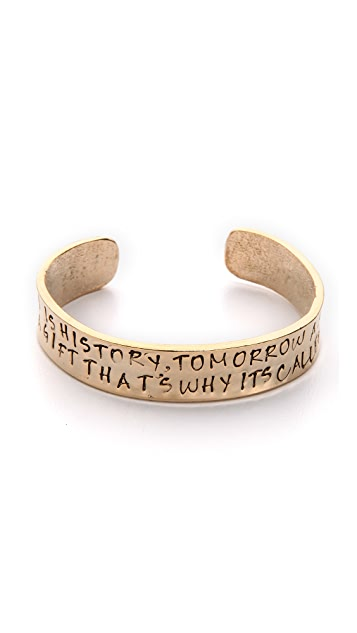 Alisa Michelle Designs Yesterday Is History Bracelet