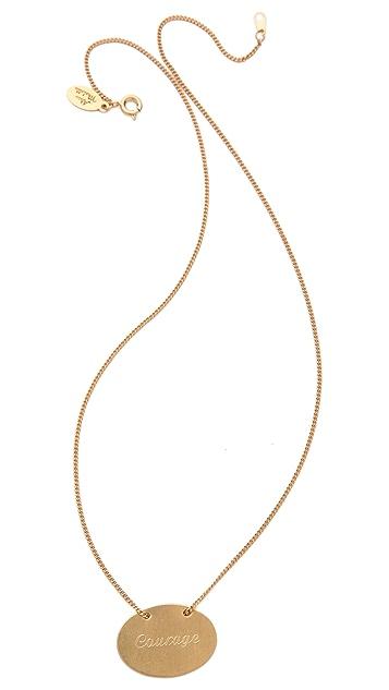 Alisa Michelle Designs Courage Necklace