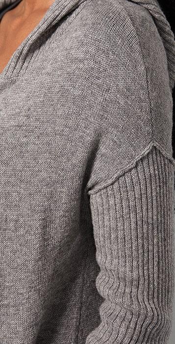 Ami Dans La Rue Hooded Duster Sweater