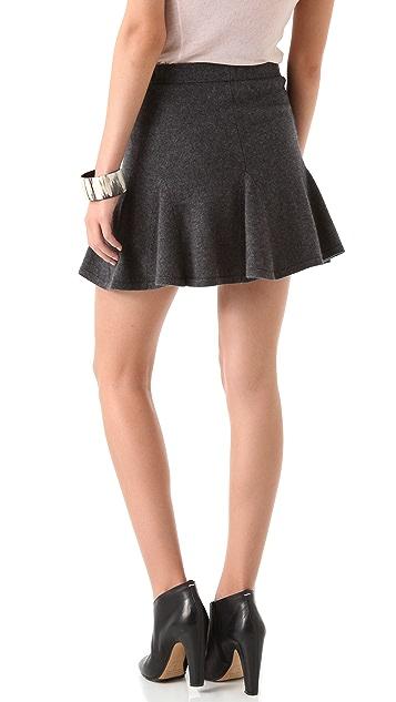 Ami Dans La Rue Pleated Skirt