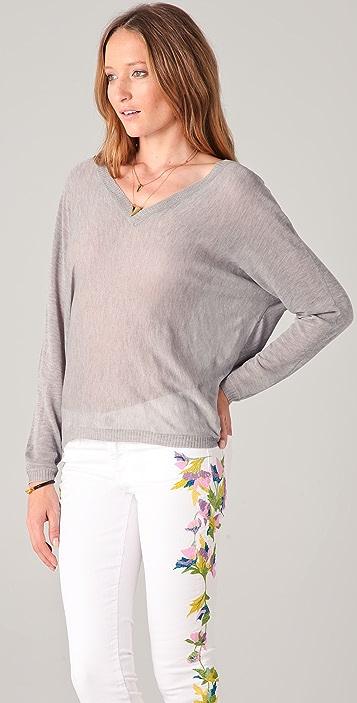 Ami Dans La Rue Double V Sweater
