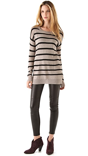 Ami Dans La Rue The Twiggy Stripe Sweater