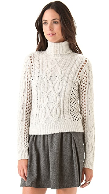 Ami Dans La Rue The Oxford Turtleneck Sweater