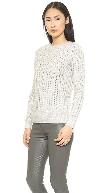 Ami Dans La Rue Wicker Boat Neck Sweater