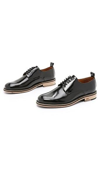AMI Bicolor Sole Derby Shoes
