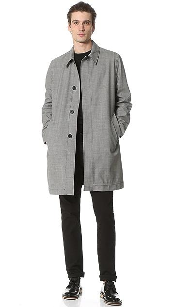 AMI Long Mac Coat