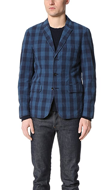 Alex Mill Buffalo Plaid Blazer